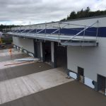 Phase 3 & 4 - Recycling and vehicle maintenance unit
